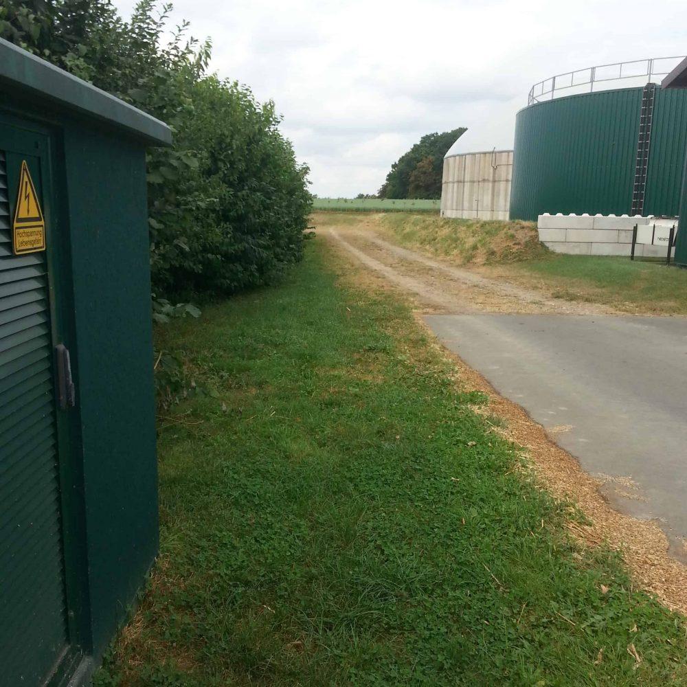 Projekt-Biogasanlage